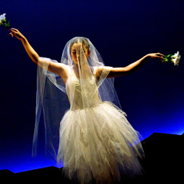 Queen Myrtha by Joni Chng - People Musicians & Entertainers ( performance, ballet, dance, dancer, giselle )