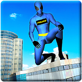 Police Spider Hero City Rescue APK for Bluestacks