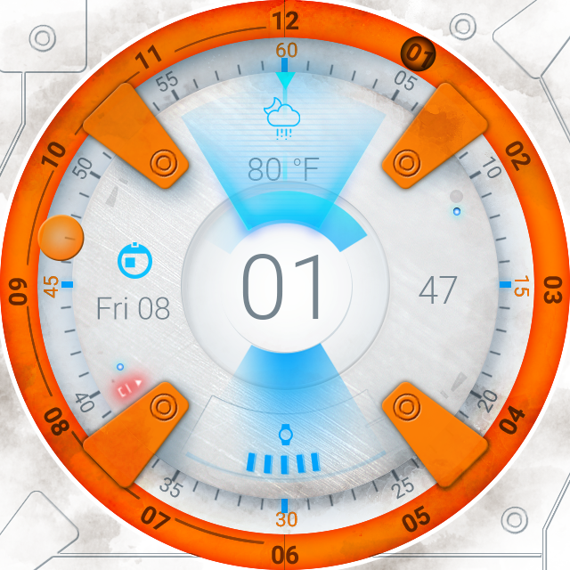 BB Droid Watch Face Screenshot 4