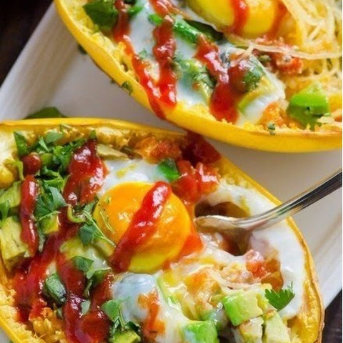Boats-Squash With Avocado