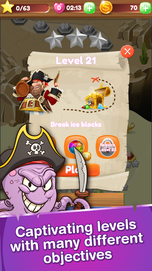 Pirate King's Treasure Screenshot 4