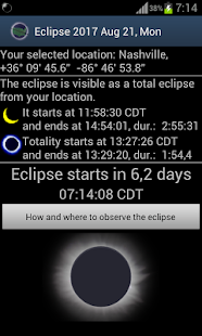 Eclipse 2017 - screenshot