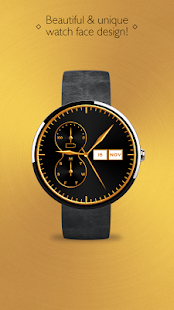 Gold Watch Face