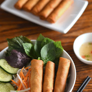 Egg Rolls With Rice Noodles Recipes