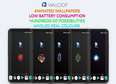 3D Wallpaper, AMOLED Live Wallpaper 4K/HD: Walloop APK screenshot thumbnail 9