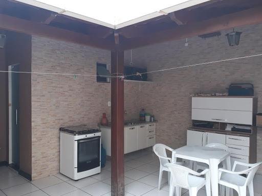 Casa 3 Quartos, garagem e Espaço Gourmet com Ducha - Residencial Lagoa