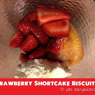Strawberry Shortcakes with Canned Biscuits