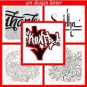 art design letter 2.0 Icon