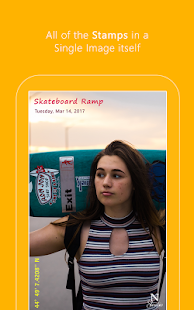 Auto Stamper: Timestamp Camera App for Photos 2018 Screenshot