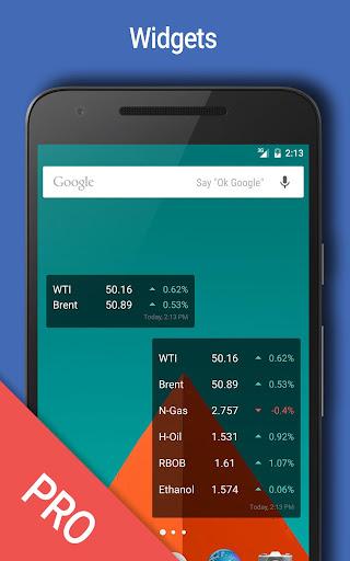 Oil Price Watcher - screenshot