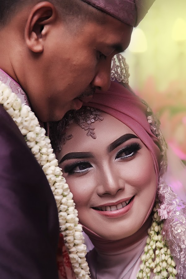 by Lay Sulaiman - Wedding Bride & Groom ( couple, people )