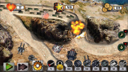 Tower Defense: Tank WAR - screenshot