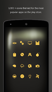 PipTec Amber Icons & Live Wall- screenshot thumbnail