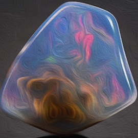 Fire Opal by Jody Bédard - Painting All Painting ( painted, painting with light, art, artistic, painting, artwork )