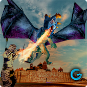 APK Game Monster War Of Dragon Realm 3D for BB, BlackBerry