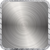 App Chrome Metal Wallpaper apk for kindle fire