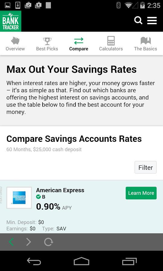 Bank Reviews and Ratings - Bankrate.com