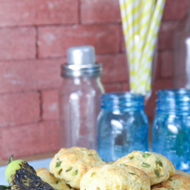 Hatch Chile & Cheddar Cornbread Scones Recept | Yummly