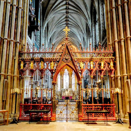 Worcester Cathedral by Ian Popple - Buildings & Architecture Places of Worship ( worcester, place of worship, cathedral, architecture )