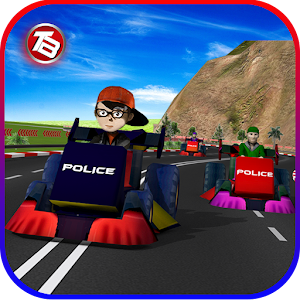 Kids Police Car Racing 1.0
