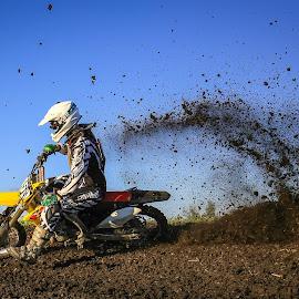 Roost by Kenton Knutson - Sports & Fitness Motorsports ( roost, motocross, racing, mx, dirt bike, dirt,  )