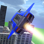 Flying Extreme Car 3D Icon