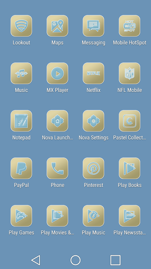 Pastel Collection 6 Icon Pack Screenshot 5