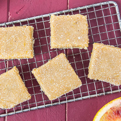 Blood Orange Bars {with Bourbon Vanilla Bean}