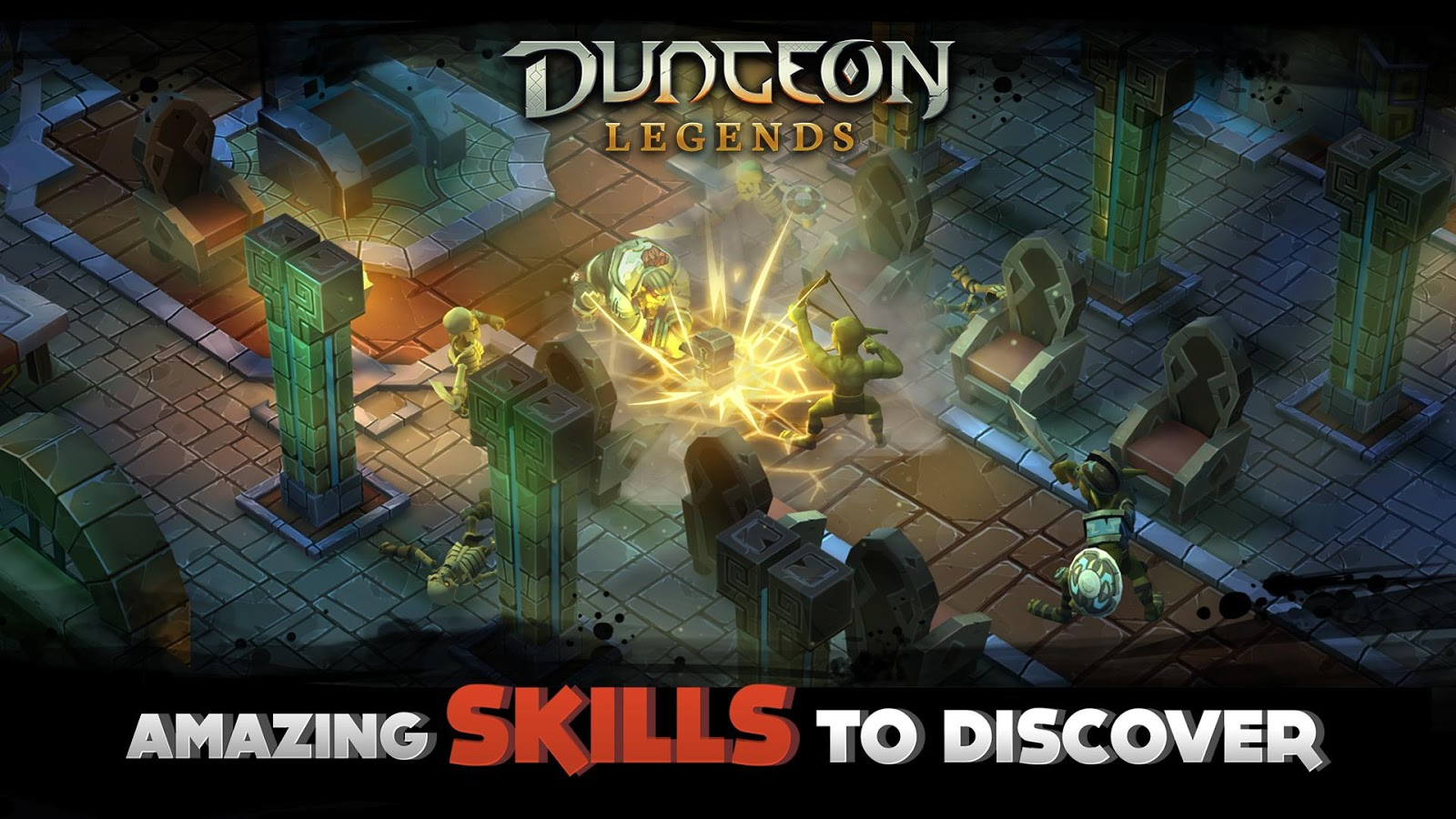 Dungeon Legends: Skeleton King Screenshot 3