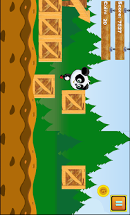 SUPER PANDA WARRIOR - screenshot