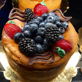Berries Delight Cake by Lope Piamonte Jr - Food & Drink Candy & Dessert