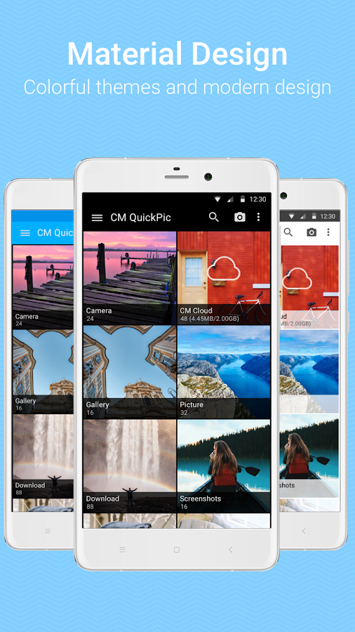 QuickPic Gallery  Fast & light Gallery for Android Screenshot