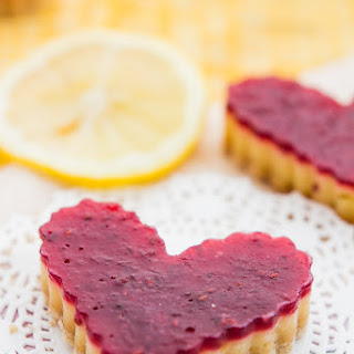 Lighter Raspberry Lemon Bars