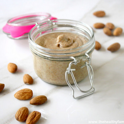 How To Make Homemade Almond Butter (Raw, Vegan, Gluten-Free, Dairy-Free, Paleo-Friendly)