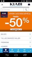 Screenshot of KIABI Español