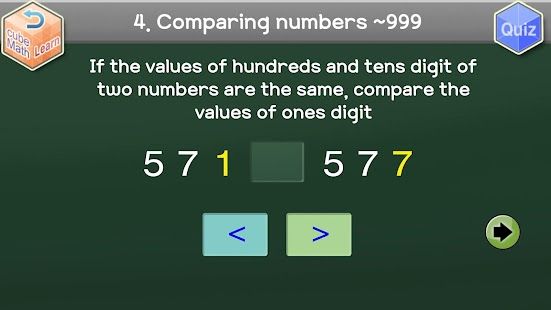 Second Grade Cube Math - screenshot