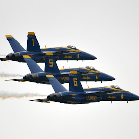 QCAS 700 feet by Greg Harrison - Transportation Airplanes ( fat albert, c-130 hercules, fa-18 hornet, airshows, quad city air show, blue angels )