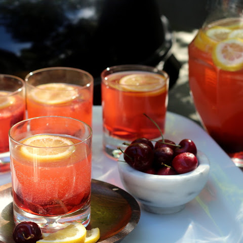 Fizzy Cherry Lemonade Cooler