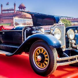 Silver Ghost by Nikhil Mace - Transportation Automobiles ( car, old car, vintage, automobile, mercedes )