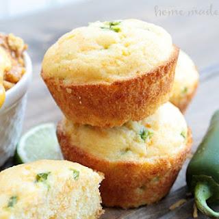 Jalapeno Cheddar Corn Bread Muffins Recipes