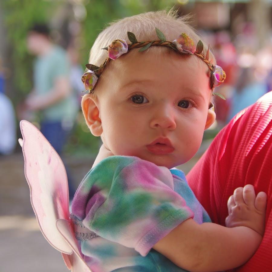 The littlest Faerie by Kirk Barnes - Babies & Children Children Candids ( faerie, innocence, renfest, baby, costume, fairy,  )