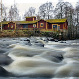 by Bojan Bilas - Buildings & Architecture Homes ( nature, waterscape, fine art, suomi, finland, long exposure, travel, architecture, landscape )