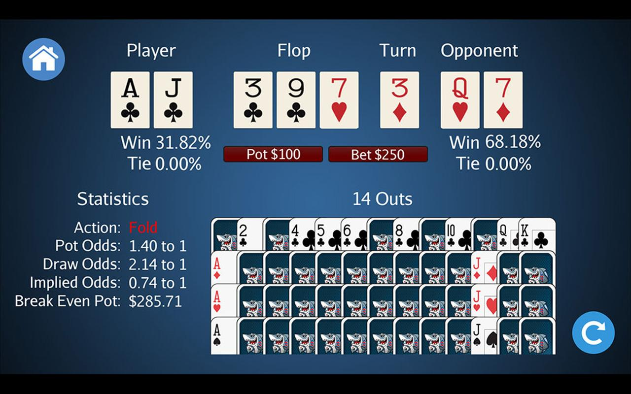Poker Odds+ Screenshot 3
