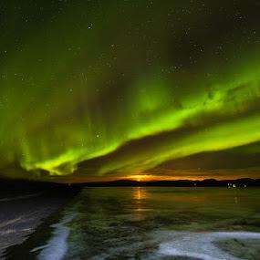Aurora Borealis by Páll Jökull Pétursson - Landscapes Starscapes ( suðurland, iceland, árnessýsla, 2013, 17-40mm, aurora borealis, norðurljós, ísland, canon eos 5d mkii, nótt, longexposure,  )