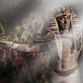 Egyptian General by Anthony Lawrence Gampon - People Fashion