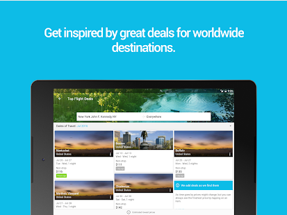 App Skyscanner APK for Kindle