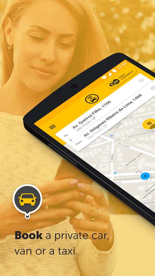 Easy - taxi, car, ridesharing Screenshot 0