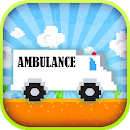 Jumpy Ambulance Racing Driving icon