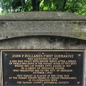 John P Holland's First Submarine