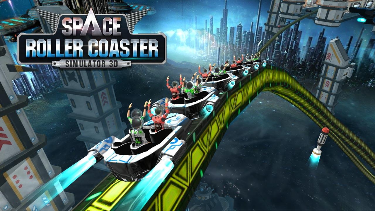 Roller Coaster Simulator Space Screenshot 0